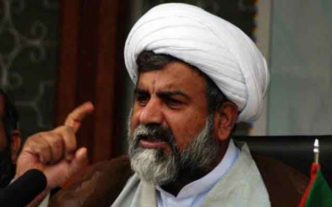وزیر داخلہ چوہدری نثار علی' نال علامہ راجہ ناصر عباس دی ہمشیرہ دی فاتحہ خوانی کیتی