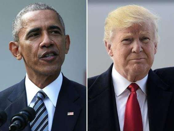 Trump arrives at White House for talks with Obama