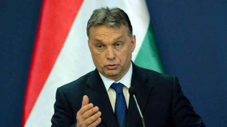Hungary PM says Trump win ends 'politically correct' era