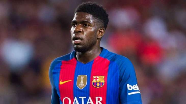 Football: Barcelona's Umtiti out for three weeks