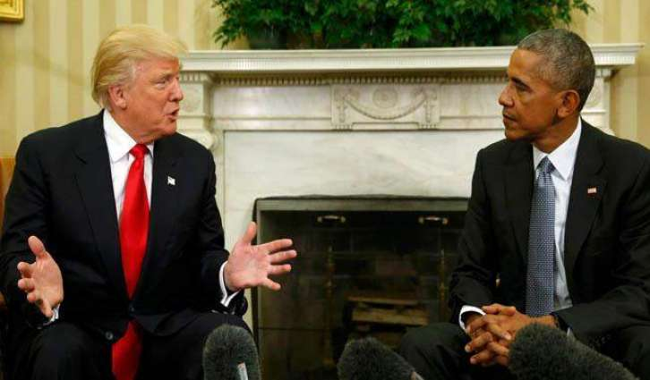 Obama hails 'excellent conversation' with Trump at White House