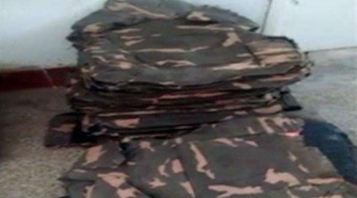 Rangers recover 190 bullet-proof jackets