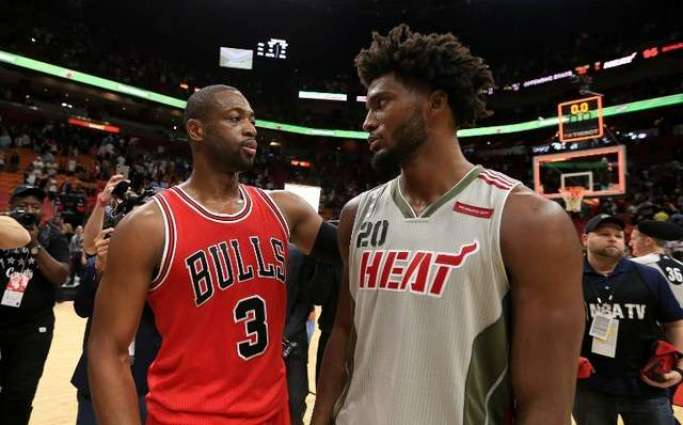 NBA: Dwyane Wade beats Heat in Miami return