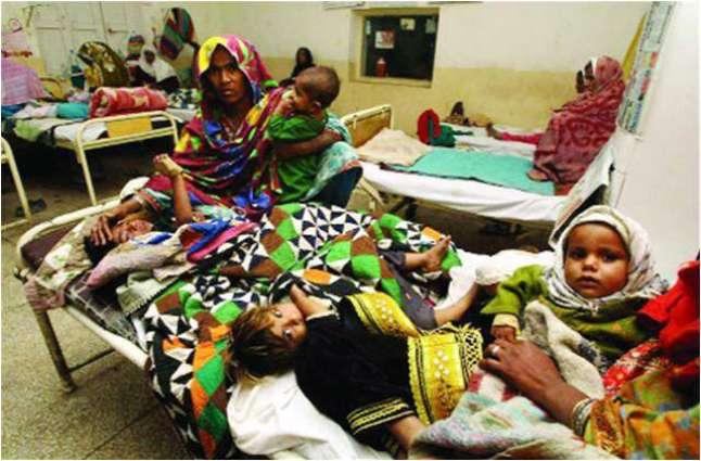 Viral diseases increased during last week