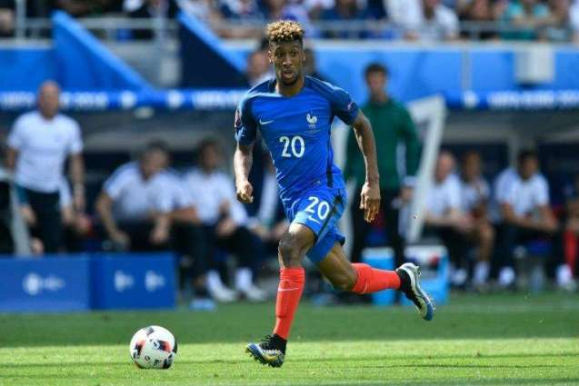 Football: Bayern's Coman out for rest of 2016