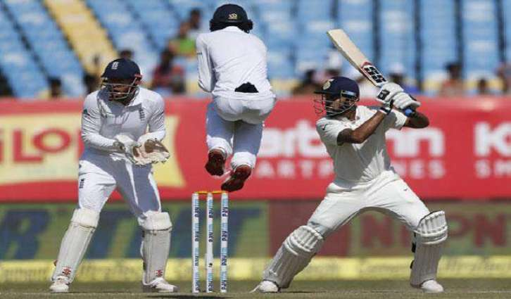 Pujara, Vijay lead India's strong batting reply