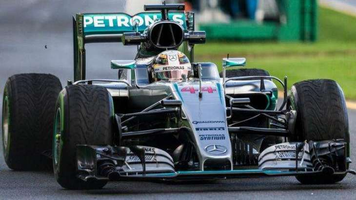 Formula One: Hamilton fastest in opening practice