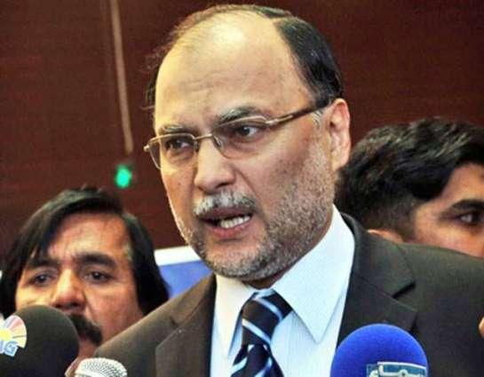 Federal govt taking steps for Karachi's development: Ahsan