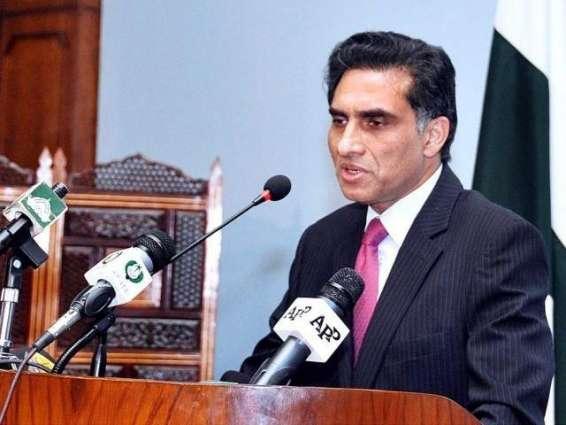 سیکرٹری خارجہ اعزاز احمد چوہدری دی سلامتی کونسل دے مسقتل ارکان کوں بریفنگ