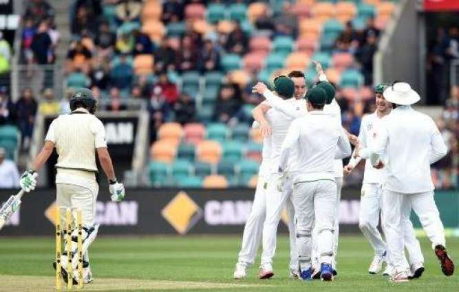 Cricket: Australia all out for 85 in 2nd Test