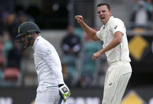 Cricket: S. Africa close at 171-5 after Aussie rout