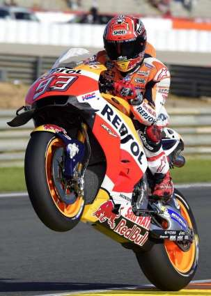 Motorcycling: Marquez fastest in Valencia free practice