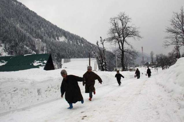 Light rain, snow over mountains likely in Kashmir