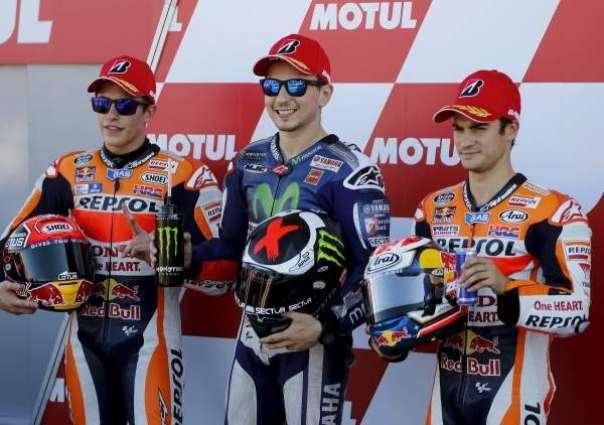 Motorcycling: Valencia Grand Prix grids