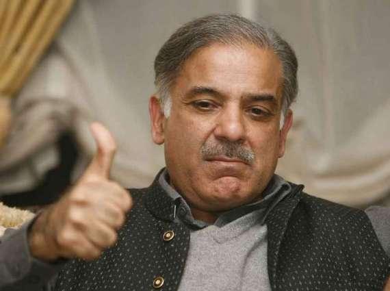 People want progress, not sit-ins: Shehbaz Sharif