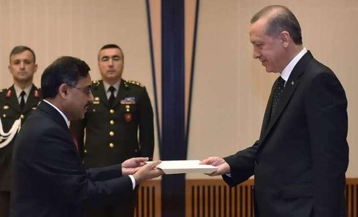 Pakistan envoy presents credentials to Kosovo President