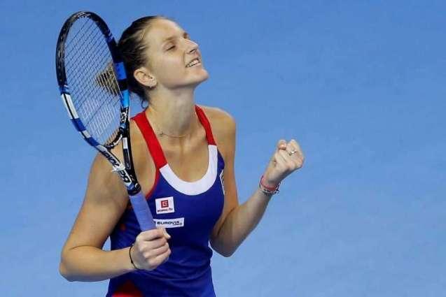 Tennis: Pliskova gives Czechs edge with 16-14 final set win