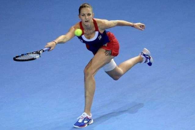 Pliskova gives Czechs edge with 16-14 final set win