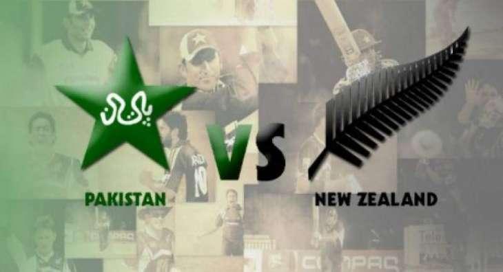 Pakistan-NZ first test as per schedule