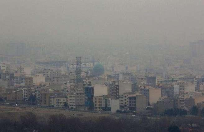 Heavy pollution shuts schools in Iran's capital