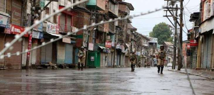 Normal life remains paralyzed in IoK on 129th day today