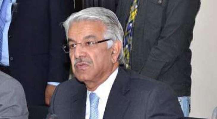 دشمن وی لاشاں چُک رہیا اے: وفاقی وزیر دفاع