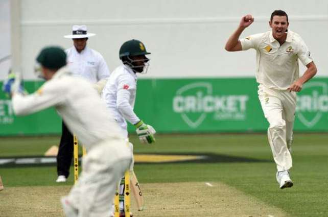 S. Africa all out for 326, lead Australia by 241