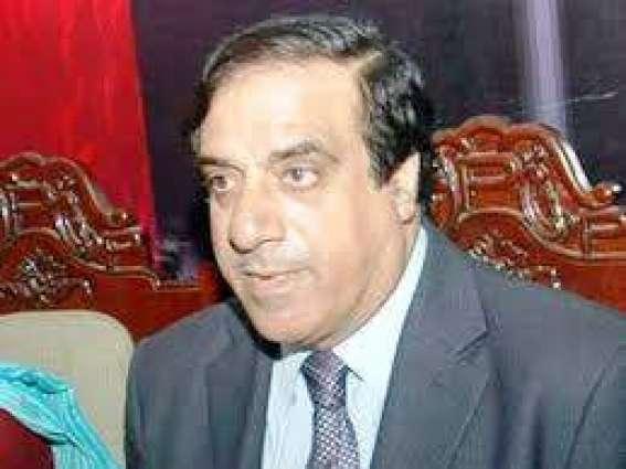 پیپلزپارٹی دے مرکزی رہنما جہانگیر بدر دی نماز جنازہ پنجاب یونیورسٹی وچ پڑھی گئی