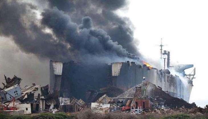Complaint filed for probing tragic Gadani ship yard' incident