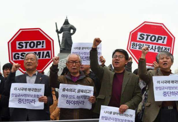 Japan, S. Korea ink controversial intelligence deal