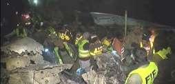 جہاز تباہ ہون توں پہلے 7،8 مسافراں نے چھال مار دِتی سی پر نہ بچ سکے: عینی شاہد