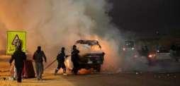حیدر آباد اچ سائیکل تے نصب بم دھماکے اچ رینجر اہلکار شدید زخمی
