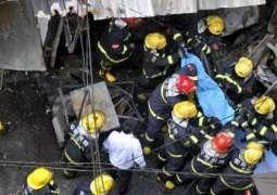 Mini Bus accident in Beijing, 18 killed