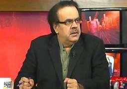 اک رات راحیل شریف نے وڈیاں گرفتاریاں کرن دا فیصلا کر لیا سی: ڈاکٹر شاہد مسعود
