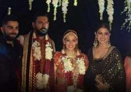 Yuvraj Singh ties the knot with Hazel Keech