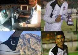 Talented Footballer-Pilot Died In a PIA Plane Crash