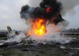 Russian plane crashes, 27 dead 16 injured