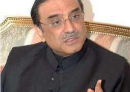 سابق صدر آصف علی زرداری دا اُچیچا جہاز ائر پورٹ اُتے لینڈ کر گیا