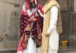 Actor/Model Nauman Habib ties a knot