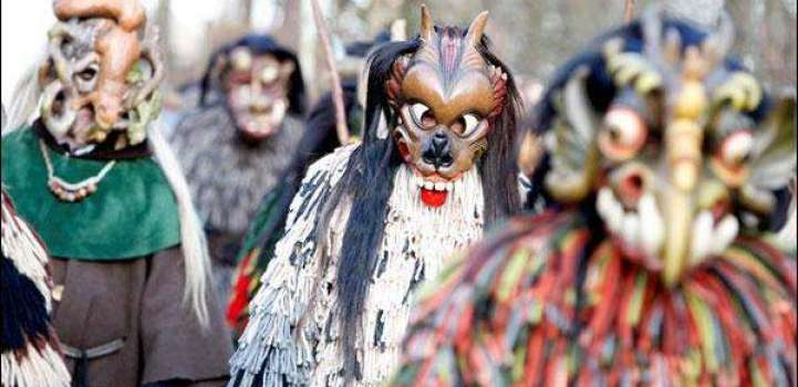 Germany celebrates traditional parade of monsters at the end of t ..