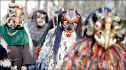 Germany celebrates traditional parade of monsters at the end of the year