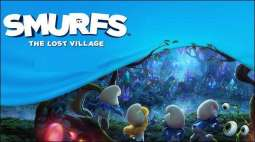 New highlights of the Smurfs- the lost village have been put on show