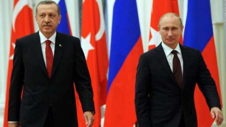 Putin expresses condolences to Erdoğan after Kayseri attack