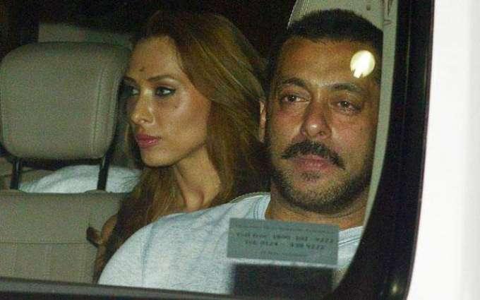 Salman Khan spotted with Lolia Vantur