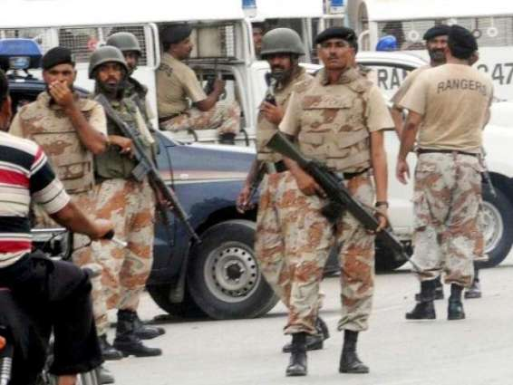 سابق صدر آصف علی زرداری دے قریبی دوست دے تن دفتراں وچ رینجرز دا چھاپا، کئی بندے گرفتار