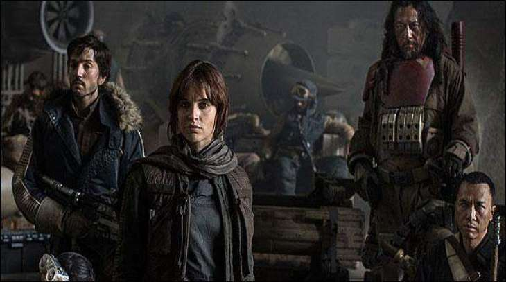 Rogue one- a star wars story after its release has crowned the box office