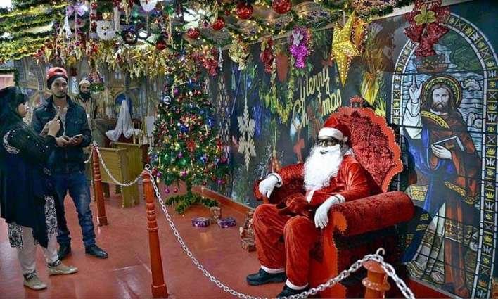 Special Christmas Train reaches Karachi