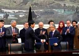 چینی کمپنی نے افغانستان وچ اہم سڑک دی اُساری دا وڈا ٹینڈر جِت لیا، سمجھوتے اُتے دستخط ہو گئے