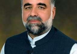 نائب رئيس البرلمان الوطني الباكستاني يعزي في وفاة عالم الدين الشهير مولانا سليم الله خان