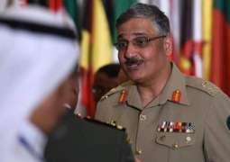 قائد القيادة المركزية الأمريكية يلتقي رئيس هيئة الأركان المشتركة للقوات المسلحة الباكستانية